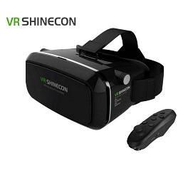 Акция! 3D очки виртуальной реальности VR SHINECON 1991 с джойстиком VR BOX