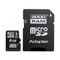 Карта памяти GOODRAM 8GB microSD Class 4 (M40A-0080R11)