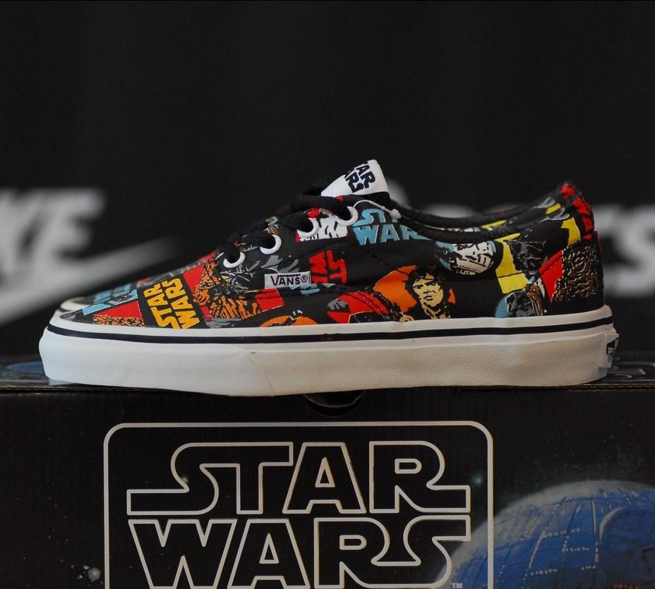 49f6bea823 Vans Era Star Wars Classic Repeat Canvas