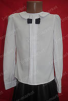 Симпатичная школьная блуза на девочку
