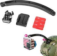 Крепление на шлем, вынос, удлинитель Arm mount для экшн-камер GoPro, SJCAM, Xiaomi, Sj4000
