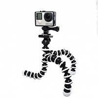 Гибкий трипод осьминожка, для GoPro, Sony, Xiaomi, смартфона, фотоапарата 25