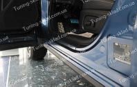 Накладки на пороги Subaru Forester 4 (накладки порогов Субару Форестер 4), фото 1