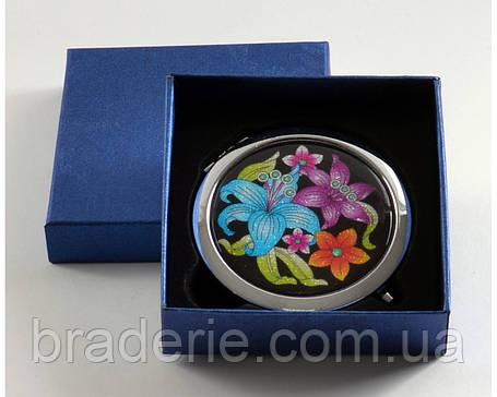 Зеркальце карманное 538-2-3, фото 2