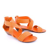 Сандалии женские 2014 HU332 Orange(37 и 40 размер )
