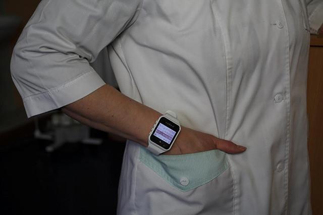 Пейджер-часы Watch pager R-02W