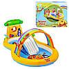 Детский надувной центр «Винни Пух» Intex 57136