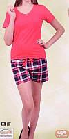 Комплект женский футболка+шорты  80614