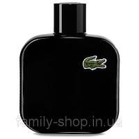 Туалетная вода Lacoste L.12.12 Noir Pour Homme 100 ml.  Мужские Tester РЕПЛИКА, фото 1