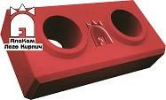Стандартный Lego кирпич «АлаКам» розовый