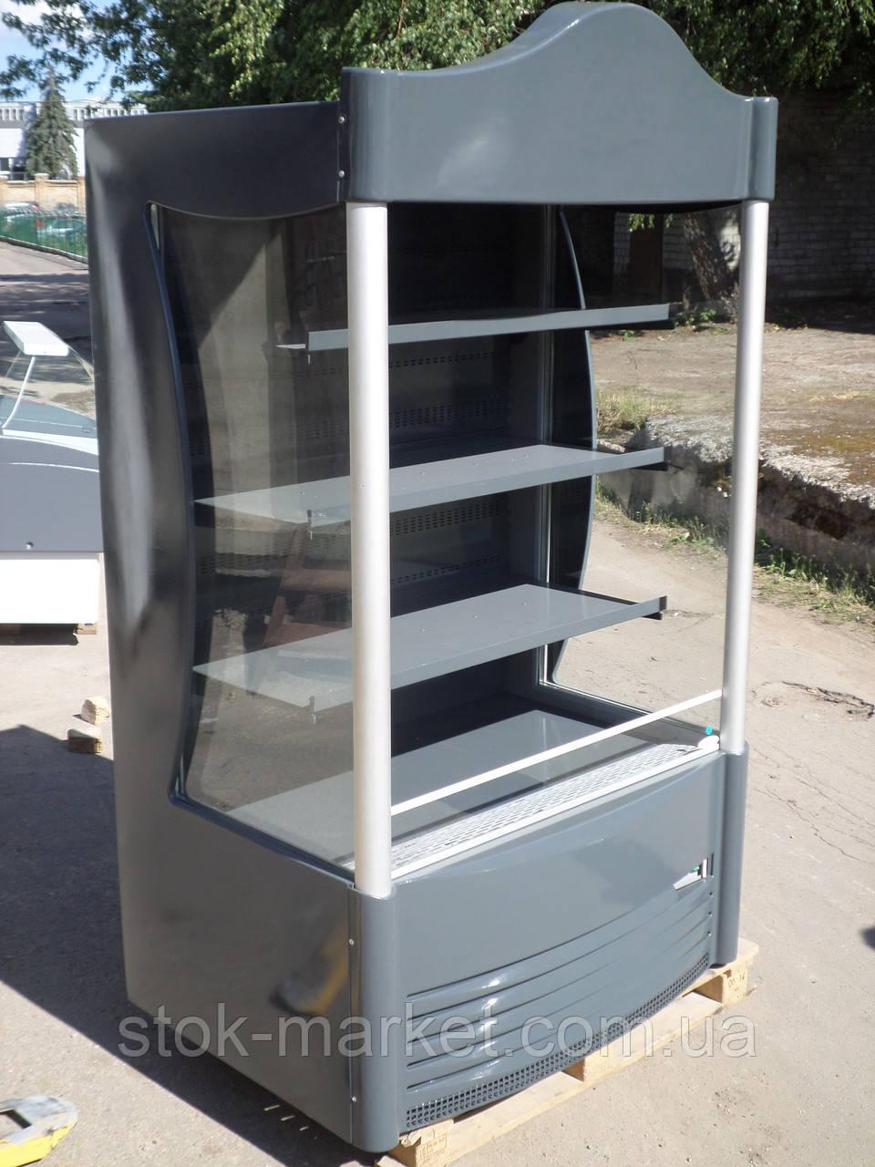 Холодильная горка Seg opxl-p б/у, холодильный регал б у, холодильная горка для фруктов и овощей, холодильный с