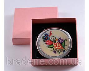 Зеркальце карманное 538-3-3