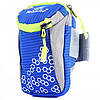 Спортивная сумка для смартфона на руку Tanluhu синяя