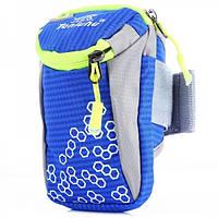 Спортивна сумка для смартфона на руку Tanluhu синя, фото 1