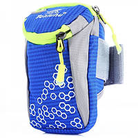 Спортивная сумка для смартфона на руку Tanluhu синяя, фото 1