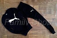 Спортивный костюм Puma Пума черный (реплика)