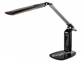 Лампа настольная led Lumen office 10W черная, фото 2