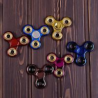 Спиннер металлический Fidget Spinner spin-2 (6 ед. в упаковке)