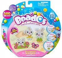 Игровой набор аквамозаики из бусинок Beados – Веселые зайчики (500 бусинок, спрей, шаблоны, аксессуары)