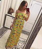 Модный длинный сарафан. Платье в пол. Платья. Магазин одежда. Одежда интернет. Женская одежда.