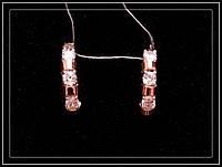 Модные серебряные сережки модель 118