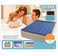 Двухместная надувная кровать Intex