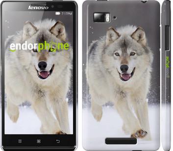 Чехол на Lenovo Vibe Z K910 Бегущий волк