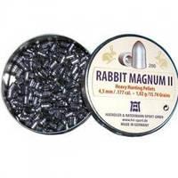 Пули пневм H&N Rabbit Magnum Power 4,5 мм 200шт/уп 1,04 г.
