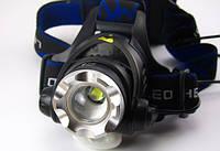 Тактический налобный фонарь Luxury 204 T6 10000W