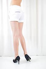 Шорты легкие летние женские белые с карманами, фото 2