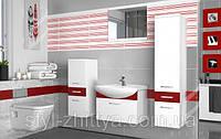 Ванна, комплект для ванної кімнати Belini з умивальником та дзеркалом