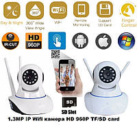 1.3MP IP Wifi камера HD 960P TF/SD card, фото 1