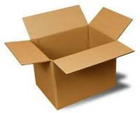 Средняя коробка для переезда. Гофрокороб. Ящик для переезда.  Гофроящик размера 600х400х400