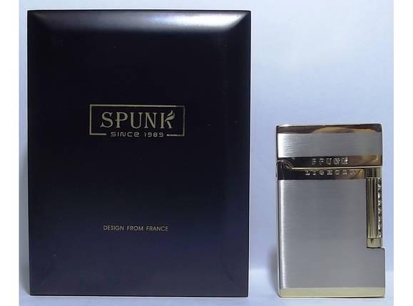 Подарочная кремниевая зажигалка SPUNK в деревянной упаковке PZ3675, фото 2