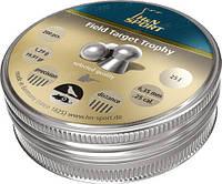 Пули пневм H&N Field Target Trophy 6,35 mm , 1,29 г, 200 шт/уп.