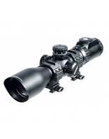 Оптический прицел LEAPERS Accushot Precision Target 3-12X44 Mil-dot, подсв.36цв, сетка-нить, кольца