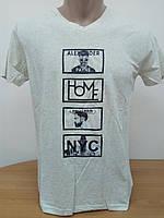 Мужская футболка Стрейч ТМ ARBOKLE Арт.68268(молочная)