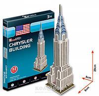 3D пазл CubicFun Крайслер-билдинг серия мини