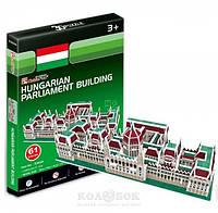 3D пазл CubicFun Венгерский парламент серия мини