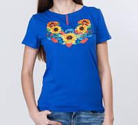 Яркая футболка на лето в этническом стиле, фото 1
