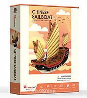 3D пазл CubicFun Китайское рыболовецкое судно