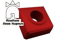 Доборный Lego кирпич «АлаКам» красный