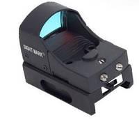 Коллиматорный прицел Sightmark Micro Combat Red Dot - открытый,марка - точка, крепление Weaver SM13001