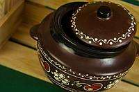 Красивая сахарница в традиционном украинском стиле