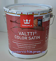 Валтти Колор - антисептик с сатиновым блеском Tikkurila Valtti Color Satin 2,7л