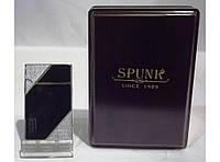 Подарочная зажигалка SPUNK в деревянной упаковке PZ36195