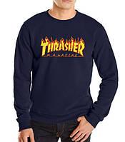 Реглан з вогненним принтом Thrasher Magazine Кофта (репліка)