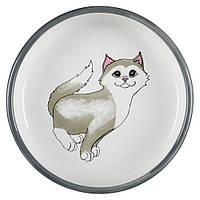 Trixie (Трикси) Кошка миска для кошек керамика 300 мл