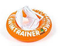 Безопасный детский надувной круг SWIMTRAINER / надувной круг для обучения движениям ( 2-6 лет )