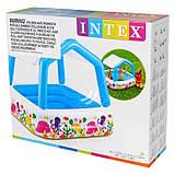 Intex 57470 бассейн надувной 157х157х122 см, фото 4